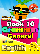 Grammar - Primary 5 - Book 10