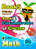 Area and Circumference of Circle - P6 - Book 5