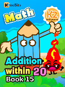 Addition within 20 - K2 - Book 15