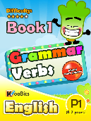 Grammar - Verbs - Primary 1 - Book 1
