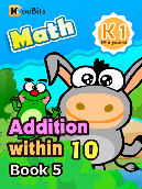 Addition within 10 - K1 - Book 5
