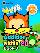 Addition within 20 - K2 - Book 3