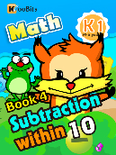 Subtraction within 10 - K1 - Book 4