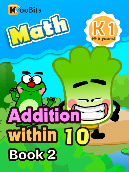 Addition within 10 - K1 - Book 2