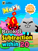 Subtraction within 20 - K2 - Book 8