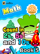 Count in 2s, 5s and 10s - K2 - Book 5