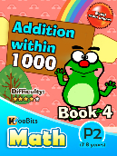 Addition within 1000 - P2 - Book 4
