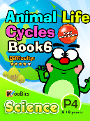 Animal Life Cycles - P4 - Book 6