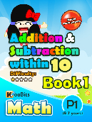 Addition & Subtraction up to 10 - P1 - Book 1