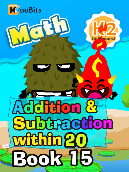 Addition & Subtraction within 20 - K2 - Book 15