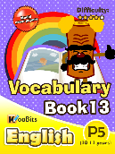 Vocabulary - Primary 5 - Book 13