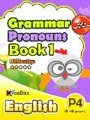 Grammar - Pronouns - Primary 4 - Book 1