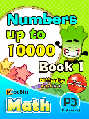 Numbers up to 10000 - P3 - Book 1