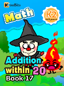 Addition within 20 - K2 - Book 17