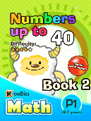 Numbers up to 40 - P1 - Book 2