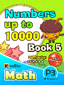 Numbers up to 10000 - P3 - Book 5