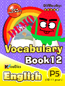 Vocabulary - Primary 5 - Book 12