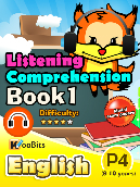 Listening Comprehension - Primary 4 - Book 1