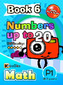 Numbers up to 20 - P1 - Book 6