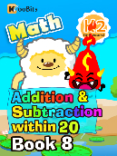 Addition & Subtraction within 20 - K2 - Book 8
