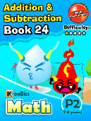 Addition & Subtraction - P2 - Book 24