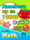 Numbers up to 10000 - P3 - Book 6