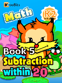 Subtraction within 20 - K2 - Book 5