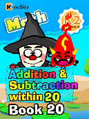 Addition & Subtraction within 20 - K2 - Book 20