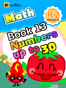 Numbers up to 30 - K2 - Book 13