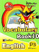 Vocabulary - Primary 3 - Book 10