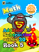 Addition & Subtraction within 30 - K2 - Book 5