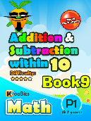 Addition & Subtraction up to 10 - P1 - Book 9