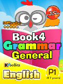 Grammar - Primary 1 - Book 4