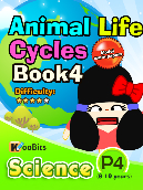 Animal Life Cycles - P4 - Book 4