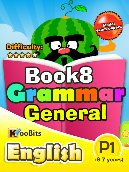 Grammar General - Primary 1 - Book 8
