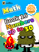 Numbers up to 30 - K2 - Book 16