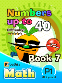 Numbers up to 40 - P1 - Book 7