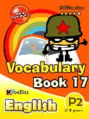 Vocabulary - Primary 2 - Book 17