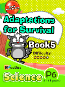 Adaptations for Survival - Primary 6 - Book 5