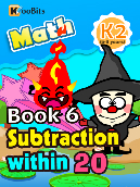 Subtraction within 20 - K2 - Book 6