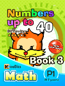 Numbers up to 40 - P1 - Book 3