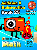 Addition & Subtraction - P2 - Book 25