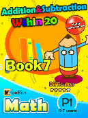 Addition & Subtraction within 20 - P1 - Book 7