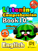 Listening Comprehension - Primary 1 - Book 10