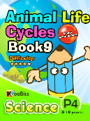 Animal Life Cycles - P4 - Book 9
