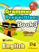 Grammar - Prepositions - Primary 4 - Book 3