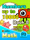 Numbers up to 10000 - P3 - Book 8