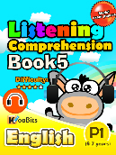 Listening Comprehension - Primary 1 - Book 5