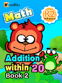 Addition within 20 - K2 - Book 2