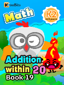 Addition within 20 - K2 - Book 19